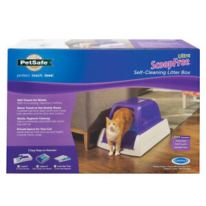 New, Self Cleaning Cat Litter Box