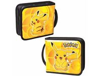 POKEMON PIKACHU UNIVERSAL FOLIO CARRY CASE FOR NINTENDO 2DS 3DS CPFA122504