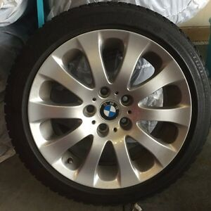 "BMW- Winter Tires AND Rims! 17"" Blizzak Tires"