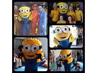 Minion mascot hire Belfast