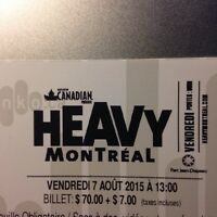 Heavy Montreal 3-Day Weekend Pass