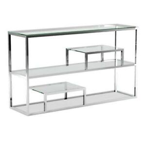 CONSOLE MIRROR AND TABLE SET ON SALE- (BD-841)
