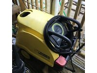 Karcher hot and cold jet wash