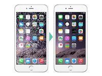 iPhone screen repairs within 45 min
