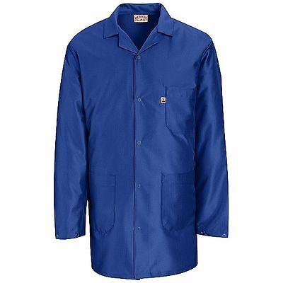 ESD Anti-Static Premium Lab Jacket Coat Unisex KK26 Red Kap Blue or White -