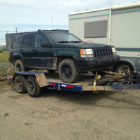 1996 Jeep Grand Cherokee 4dr SUV, Crossover