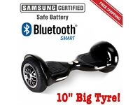 "Brand New hoverboard Bluetooth Samsung 10"" Rare Model carbon fibre"