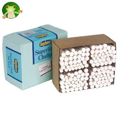 WHITE CHALK STICKS - PK 144 **GREAT PRICE**
