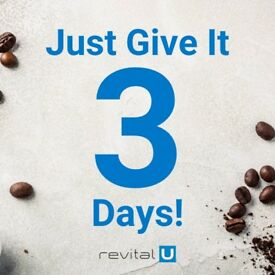 Revital U Smart Coffee Free Sample! Weight Loss, Energy Booster, Motivation Enhancer