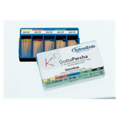 Kerr Dental 825-0425 Sybronendo K3 Gutta Percha Points Taper 0.04 25 50pk