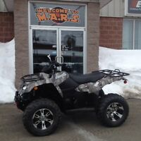 2015 Suzuki King Quad M.A.R.S Promo Free Winch & Trailer!