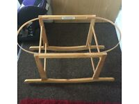 Rocking Moses basket stand