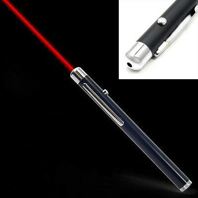 Red Professional Powerful 5mW Laser Pointer Pen Beam Light Laser Flashlight New