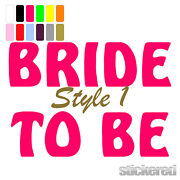 Bride to Be Transfer