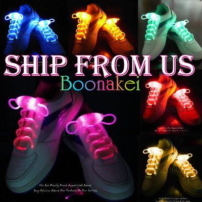 LED Flash Light Up Shoelaces Three Modes FREE FAST SHIP FROM US ](Light Up Shoelace)