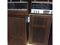 1968 stereo sound system!