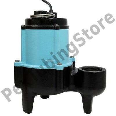 10sn-cim Manual Sewage Pump W 20 Cord 12 Hp 115v