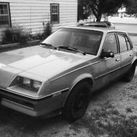 86 Buick Skyhawk limited edition