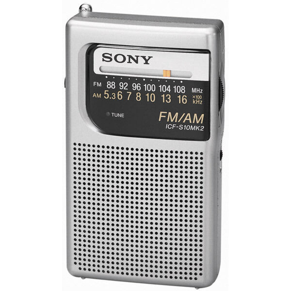 Радиоприёмник Sony Portable AM FM Pocket Radio на eBay
