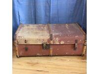 Vintage Steamer cabin trunk