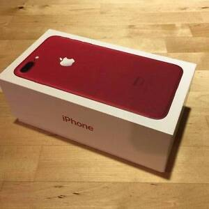 New Sealed RED Iphone 7 Plus 128gb (Warranty+Receipt) Wiley Park Canterbury Area Preview