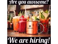 Full-time bar & waiting staff needed at Revolution Bath