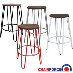 Super 66Cm High Hairpin Counter Stool Wood Seat Stools Bar Pdpeps Interior Chair Design Pdpepsorg