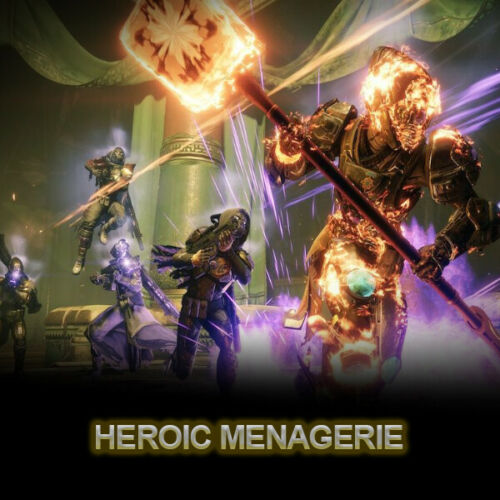 Destiny 2 ! Heroic Menagerie ! PS4 + PC