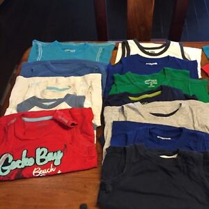 Variety of boys tanks and t-shirts