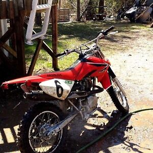 CRF80F dirtbike for trade with bigger bike