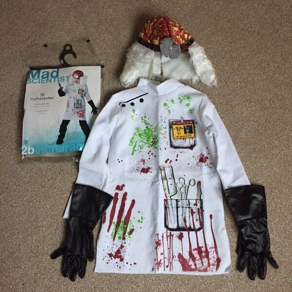 Kids Mad Scientist Costume In Armadale West Lothian