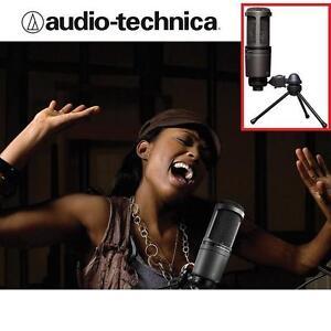 NEW AUDIO-TECHNICA MICROPHONE DELUXE USB CARDIOID CONDENSER MICROPHONE - MIC MUSIC RECORDING 106508327