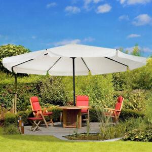 Parasol de Jardin en Aluminium de 16.5' -Crème