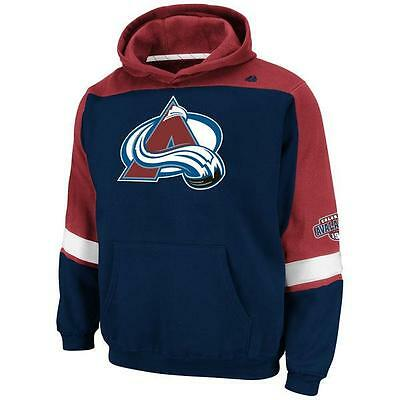Colorado Avalanche Youth Fleece - NWT Youth Colorado Avalanche NHL Majestic Lil' Ice Classic Fleece Hoodie