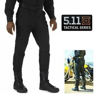 "NEW 5.11 TACTICAL PANTS MEN'S 32"" 74407-019 - BLACK - 32"" WAIST REGULAR - MOTORCYCLE BREECHES 98765111"