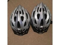 2 X Brand New Raleigh bike helmets size medium
