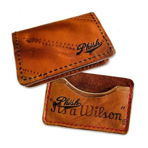 Phish X Money Mitts Mound Visit Leather Folding Wallet