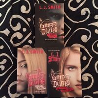 The vampire diaries book series by LJ Smith