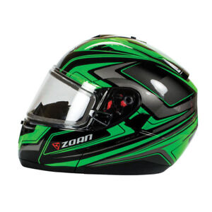 Zoan Optimus  ECLIPSE Snowmobile Helmet Heated Visor RE-GEAR