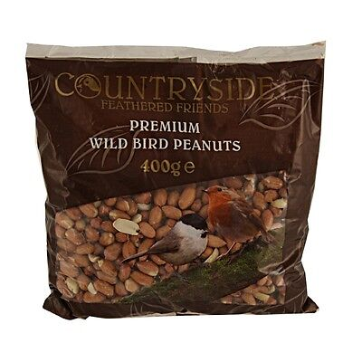 400g PEANUTS for WILD BIRDS SAFE NUTS QUALITY WILD BIRD FOOD FEED GARDEN