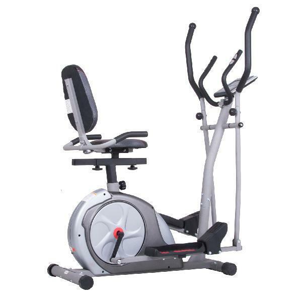 Body Rider BRT3980 Elliptical Trainer 3-in-1 Workout Machine