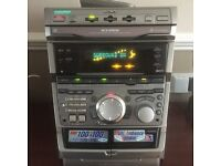 SONY 3 CD PLAYER WITH SOUND SURROUND