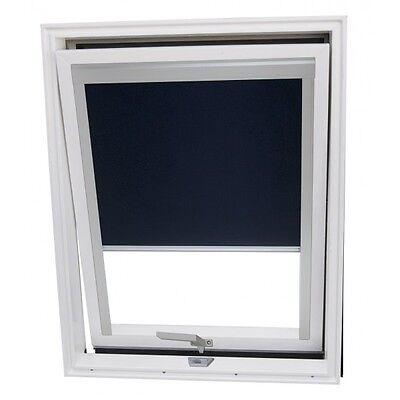 Dachfenster Kunststoff von Solstro 114x118 cm, Eindeckrahmen, Verdunklungsrollo