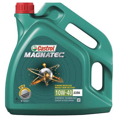 Car Parts - Castrol Magnatec 4L Car Engine Oil 4 Litres SAE 10W40 A3 B4 Part Semi Synthetic