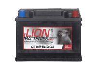 £30 Car Lion Battery