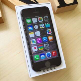 AS NEW iPhone 5S 64 GB space grey box and accessories unlocked Surfers Paradise Gold Coast City Preview