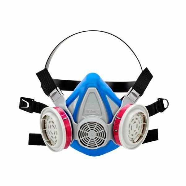MSA Advantage 290 10217167 Half-Mask Respirator & 1 PR 815369 P1OO Filter LARGE Business & Industrial
