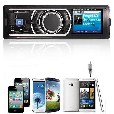 Car Stereo Audio In-Dash AM FM Aux Input Receiver with SD USB MP3 Radio Player on Rummage