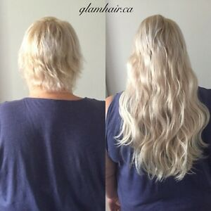 Glam Hair Extensions - Tape, Microlink/Nanolink www.glamhair.ca London Ontario image 6