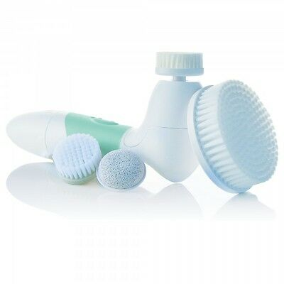 Green Spin for Perfect Skin Face Body Cleansing Brush Vanity Planet